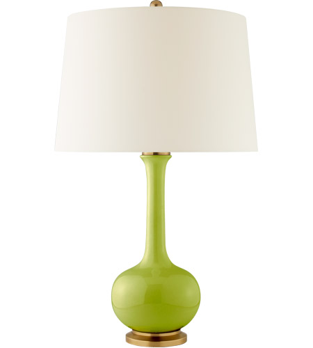 Visual comfort cs3611lme pl christopher spitzmiller coy 30 inch 100 visual comfort cs3611lme pl christopher spitzmiller coy 30 inch 100 watt lime table lamp portable mozeypictures