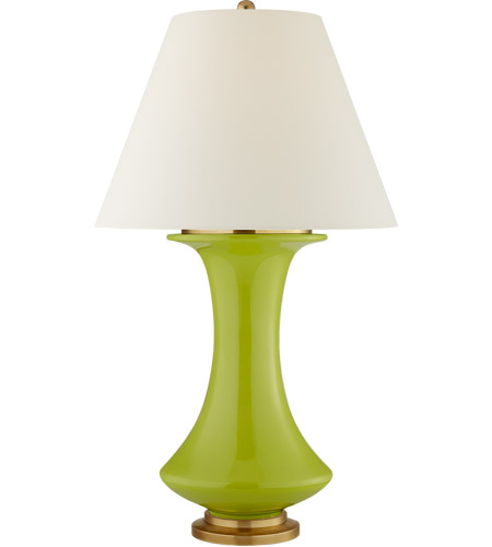 Visual comfort cs3627lme pl christopher spitzmiller nota 35 inch 100 visual comfort cs3627lme pl christopher spitzmiller nota 35 inch 100 watt lime table lamp portable light mozeypictures Choice Image