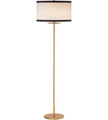 Visual Comfort KS1070G-L/BL Kate Spade New York Walker 58 inch 100 watt Gild Floor Lamp Portable Light, Medium photo thumbnail