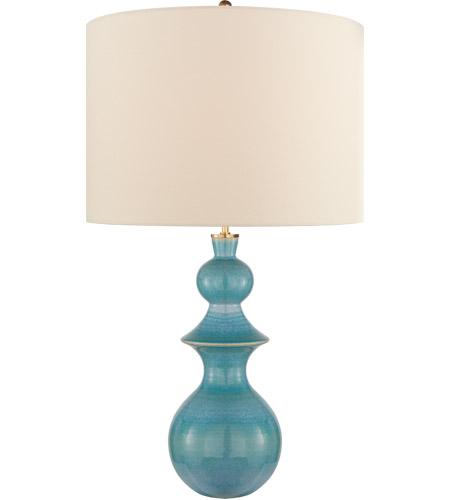 Visual Comfort Ks3617stu L Kate Spade, Turquoise Ceramic Lamp