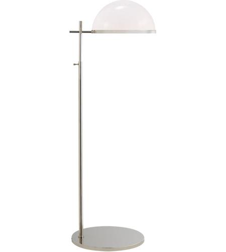 Visual Comfort KW1240PN WG Kelly Wearstler Dulcet 44 Inch 60 Watt Polished  Nickel Pharmacy Floor Lamp Portable Light, Medium