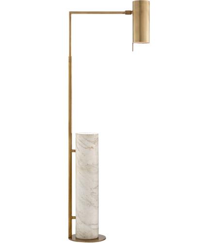 visual comfort kw1611abwm kelly wearstler alma 43 inch 40 watt brass