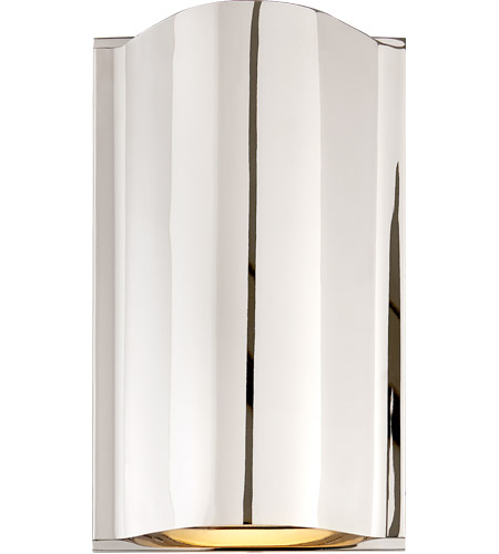 Visual Comfort KW2704PN-FG Kelly Wearstler Avant LED 7 inch Polished Nickel Wall Sconce Wall Light photo