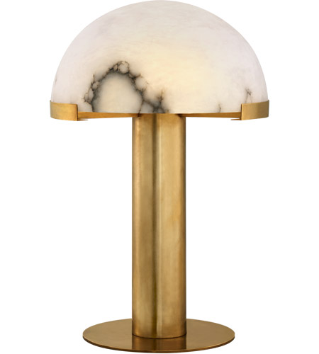 Antique Burnished Brass Table Lamps