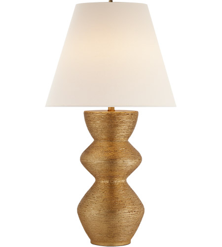 Visual comfort kw3055g l kelly wearstler utopia 28 inch for 100 watt table lamps