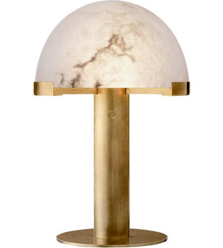 Visual Comfort KW3109AB ALB Kelly Wearstler Melange 18 Inch 12 Watt  Antique Burnished Brass Desk Lamp Portable Light In Antique Burnished Brass