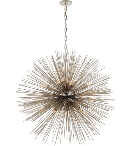 Visual Comfort KW5072PN Kelly Wearstler Strada 20 Light 40 inch Polished Nickel Pendant Ceiling Light, Kelly Wearstler, Large, Round photo