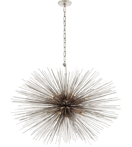 Visual Comfort KW5074BSL Kelly Wearstler Strada 20 Light 38 inch Burnished Silver Leaf Pendant Ceiling Light Kelly Wearstler Medium Oval  sc 1 st  Visual Comfort & Visual Comfort KW5074BSL Kelly Wearstler Strada 20 Light 38 inch ... azcodes.com