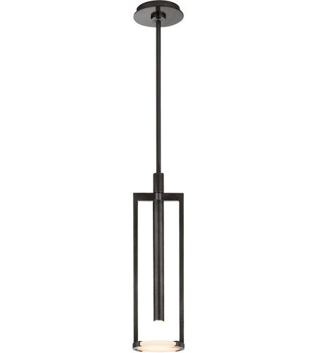 Visual Comfort KW5610BZ-ALB Kelly Wearstler Melange LED 5 inch Bronze Pendant Ceiling Light, Small Floating Disc photo