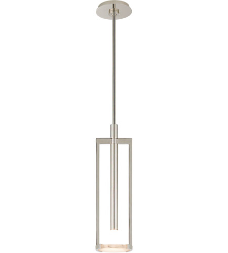 Visual Comfort KW5610PN-ALB Kelly Wearstler Melange LED 5 inch Polished Nickel Pendant Ceiling Light, Small Floating Disc photo