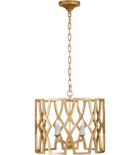 Visual Comfort NW5110VG Niermann Weeks Brittany 4 Light 20 inch Venetian Gold Foyer Lantern Ceiling Light, Niermann Weeks, Small photo