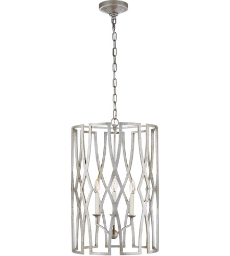 Visual Comfort NW5111VS Niermann Weeks Brittany 3 Light 18 inch Venetian Silver Foyer Lantern Ceiling Light, Niermann Weeks, Medium photo