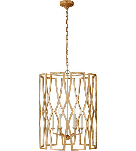 Visual Comfort NW5112VG Niermann Weeks Brittany 6 Light 24 inch Venetian Gold Foyer Lantern Ceiling Light, Niermann Weeks, Large photo