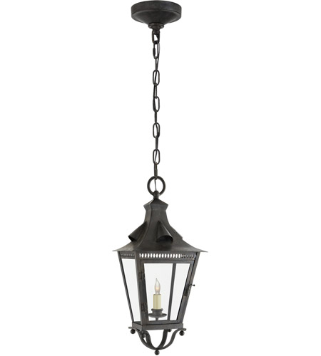 Visual Comfort NW5707FR-CG Niermann Weeks Orleans 1 Light 10 inch French Rust Outdoor Hanging Lantern, Small photo thumbnail