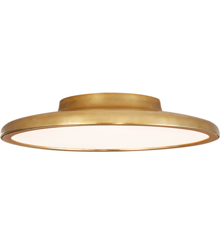 premium selection c1835 2f834 Peter Bristol Dot LED 14 inch Natural Brass Flush Mount Ceiling Light