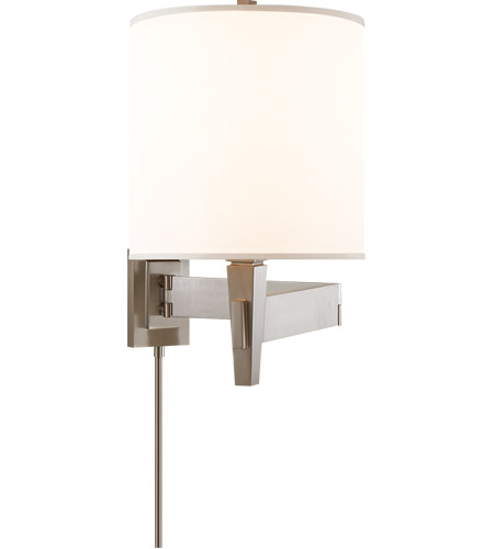 Visual Comfort PT2000BC-S Studio Architects 22 inch 100 watt Brushed Chrome Swing-Arm Wall Light photo