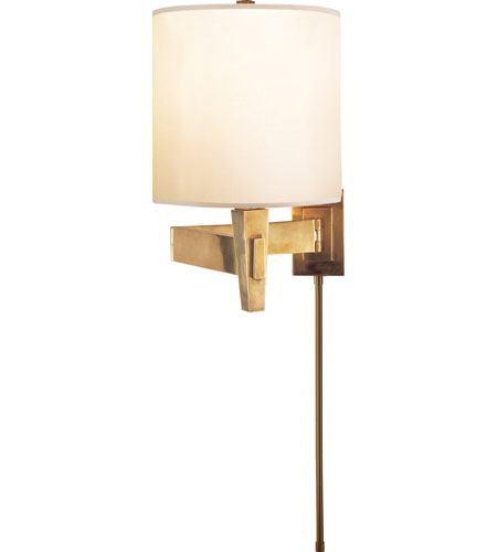 Visual Comfort PT2000HAB-S Studio Architects 22 inch 100 watt Hand-Rubbed Antique Brass Swing-Arm Wall Light photo