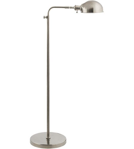 Visual comfort s1100an studio old pharmacy 36 inch 60 watt antique visual comfort s1100an studio old pharmacy 36 inch 60 watt antique nickel task floor lamp portable light mozeypictures Image collections