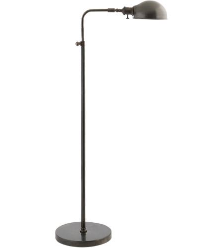 visual comfort s1100bz studio old pharmacy 36 inch 60 watt bronze task floor lamp portable light