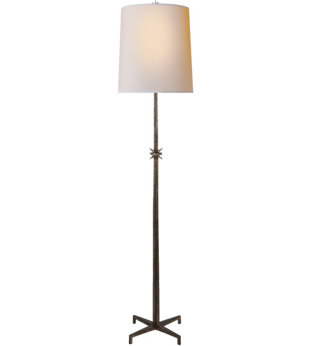 Visual Comfort S1320AI-NP Ian K. Fowler Etoile 72 inch 100 watt Aged Iron Floor Lamp Portable Light, Large photo