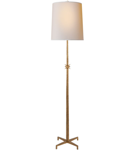 Visual Comfort S1320GI-NP Ian K. Fowler Etoile 72 inch 100 watt Gilded Iron Floor Lamp Portable Light, Large photo