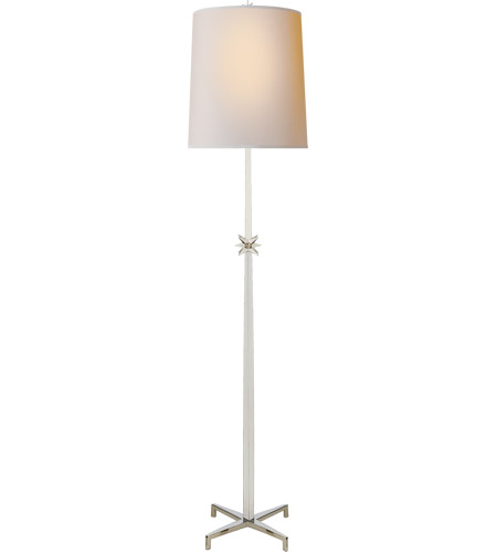 Visual Comfort S1320PN-NP Ian K. Fowler Etoile 72 inch 100 watt Polished Nickel Floor Lamp Portable Light, Large photo