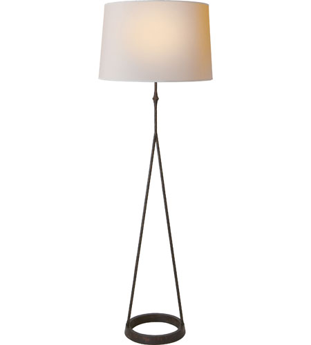 Visual Comfort S1400AI-NP Studio Dauphine 54 inch 150 watt Aged Iron with Wax Decorative Floor Lamp Portable Light photo