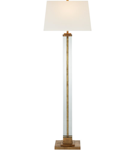 Visual Comfort S1702GI-L Studio Vc Wright 63 inch 100 watt Gilded Iron Floor Lamp Portable Light, Large photo