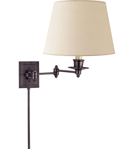 Visual Comfort Studio 1 Light Swing-Arm Wall Light in Bronze S2000BZ-L photo