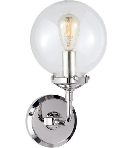 Visual Comfort S2024PN-CG Ian K. Fowler Bistro 1 Light 6 inch ...