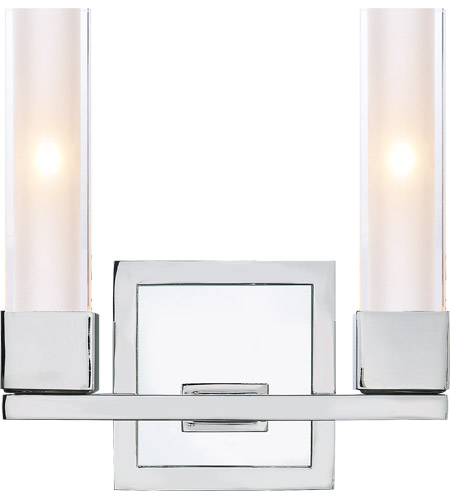 Visual Comfort S2155PN-CG Ian K. Fowler Kendal 2 Light 9 inch Polished Nickel Decorative Wall Light photo