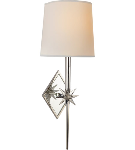 Visual Comfort S2320PN-NP Ian K. Fowler Etoile 1 Light 5 inch Polished Nickel Decorative Wall Light photo