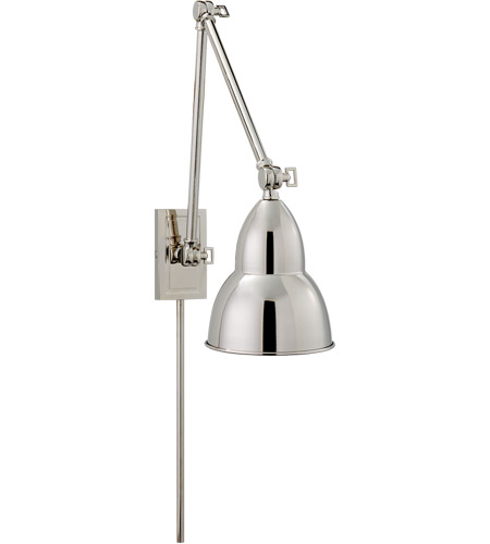 Visual Comfort S2602PN Studio French Library 31 inch 50 watt Polished Nickel Task Wall Light photo
