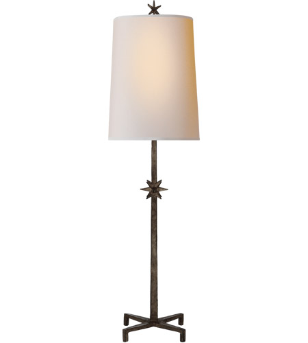 Visual Comfort S3320AI-NP Ian K. Fowler Etoile 37 inch 60 watt Aged Iron Table Lamp Portable Light, Large photo