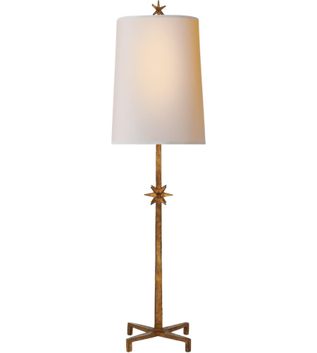 Visual Comfort S3320GI-NP Ian K. Fowler Etoile 37 inch 60 watt Gilded Iron Table Lamp Portable Light, Large photo