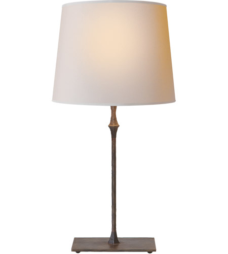 Visual Comfort S3400AI-NP Studio Dauhpine 24 inch 100 watt Aged Iron Decorative Table Lamp Portable Light photo