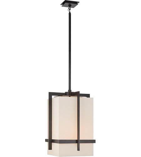 Visual Comfort S5325AI-L Ian K. Fowler Milo 4 Light 20 inch Aged Iron Pendant Ceiling Light, Large photo