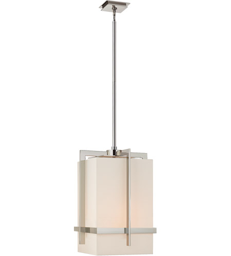 Visual Comfort S5325PN-L Ian K. Fowler Milo 4 Light 20 inch Polished Nickel Pendant Ceiling Light, Large photo
