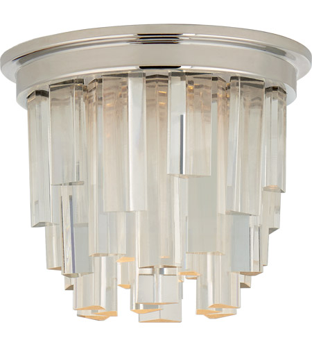 Visual Comfort S7010PN-CA Studio VC Breck LED 5 inch Polished Nickel Flush Mount Ceiling Light, Petite photo