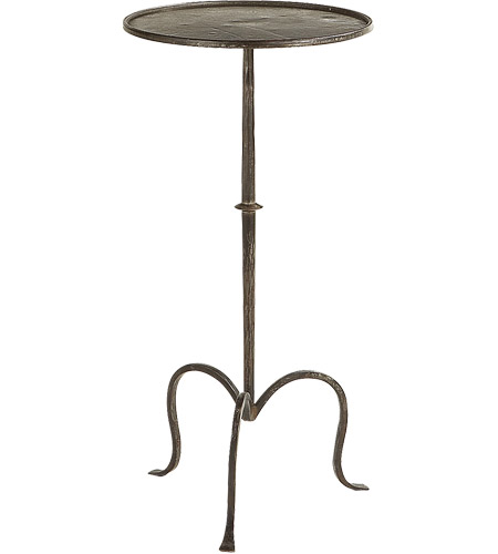 Visual comfort sf210ai studio martini 24 x 12 inch aged for 12 inch accent table