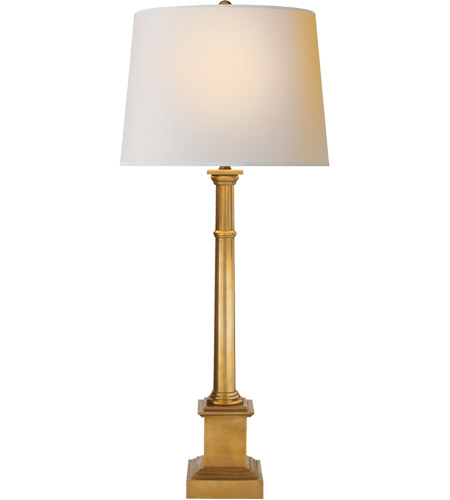 Visual Comfort SK3008HAB-NP Suzanne Kasler Sjosephine 33 inch 150 watt Hand-Rubbed Antique Brass Decorative Table Lamp Portable Light photo