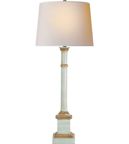 Visual Comfort SK3008LB-NP Suzanne Kasler Josephine 33 inch 100 watt Limed Birch Decorative Table Lamp Portable Light photo