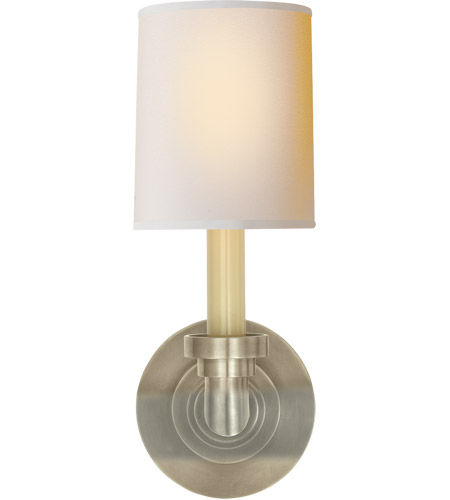 Visual Comfort SL2845AN-NP E. F. Chapman Wilton 1 Light 5 inch Antique Nickel Decorative Wall Light photo