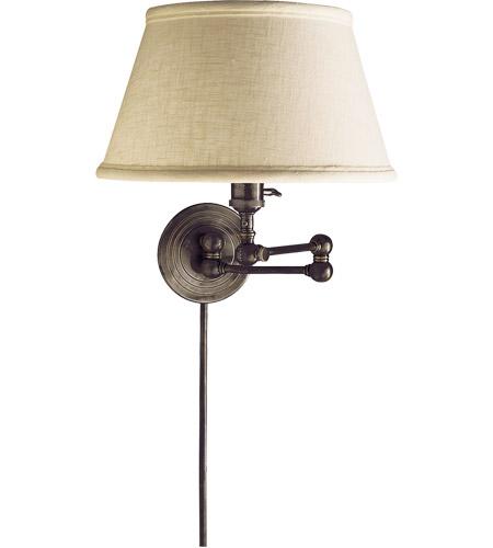 Visual Comfort Sl2920bz L E F Chapman Boston 19 Inch 60 Watt Bronze Swing Arm