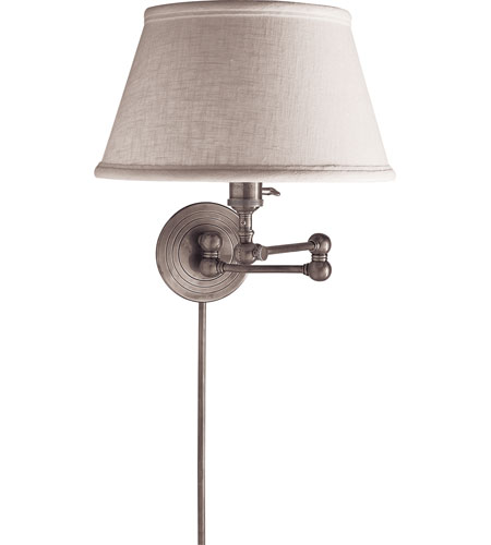Visual Comfort SL2920PN-L E.F. Chapman Boston 19 inch 60 watt Polished Nickel Swing-Arm Wall Light photo