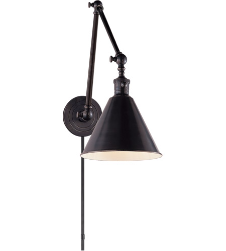 Visual Comfort SL2923BZ E. F. Chapman Boston 36 inch 60 watt Bronze Task Wall Light photo
