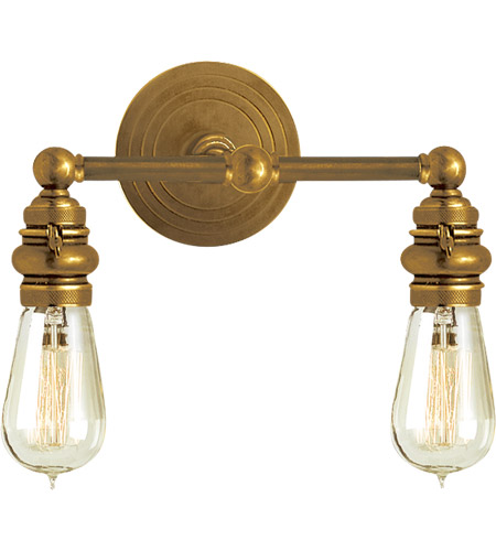brass bathroom light visual comfort sl2932hab e f chapman boston 2 light 15 12154