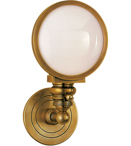 Visual Comfort SL2935HAB-WG E. F. Chapman Boston 1 Light 6 inch Hand-Rubbed Antique Brass Wall Light photo