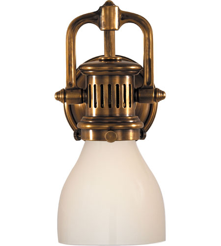 Visual Comfort Studio Yoke 1 Light Suspended Wall Sconce in Hand ...