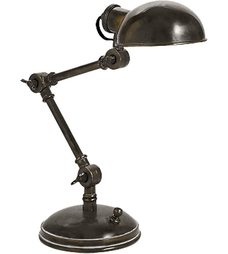 Visual Comfort E.F. Chapman Pixie 1 Light Task Table Lamp in Bronze SL3025BZ photo